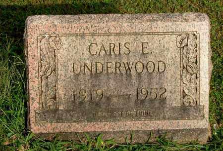 UNDERWOOD, CARIS EVERETT - Gallia County, Ohio | CARIS EVERETT UNDERWOOD - Ohio Gravestone Photos