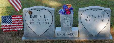 UNDERWOOD, DARIOUS LOWELL - Gallia County, Ohio | DARIOUS LOWELL UNDERWOOD - Ohio Gravestone Photos