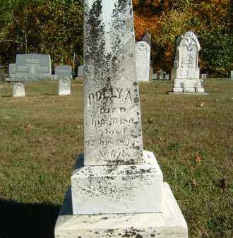 UNKNOWN, POLLY A. - Gallia County, Ohio | POLLY A. UNKNOWN - Ohio Gravestone Photos