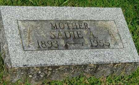 UNKNOWN, SADIE A - Gallia County, Ohio | SADIE A UNKNOWN - Ohio Gravestone Photos