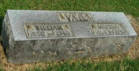 VAIL, WILLIAM - Gallia County, Ohio | WILLIAM VAIL - Ohio Gravestone Photos