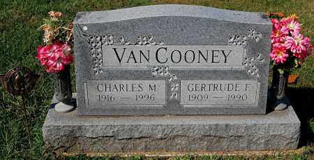 VAN COONEY, GERTRUDE F - Gallia County, Ohio | GERTRUDE F VAN COONEY - Ohio Gravestone Photos