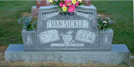 VAN SICKLE, NETTIE B - Gallia County, Ohio | NETTIE B VAN SICKLE - Ohio Gravestone Photos