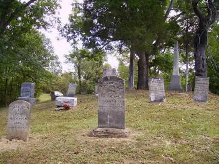 VAN ZANT CEMETERY, OVERALL VIEW #3 - Gallia County, Ohio | OVERALL VIEW #3 VAN ZANT CEMETERY - Ohio Gravestone Photos