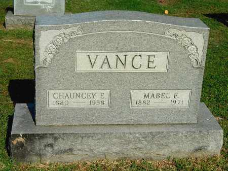 VANCE, MABEL E - Gallia County, Ohio | MABEL E VANCE - Ohio Gravestone Photos