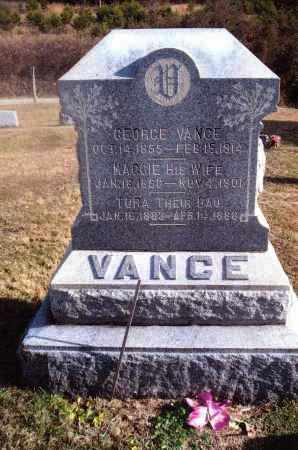 VANCE, TORA - Gallia County, Ohio | TORA VANCE - Ohio Gravestone Photos
