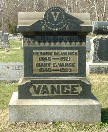 VANCE, GEORGE M - Gallia County, Ohio | GEORGE M VANCE - Ohio Gravestone Photos