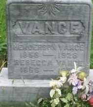 VANCE, REBECCA - Gallia County, Ohio | REBECCA VANCE - Ohio Gravestone Photos