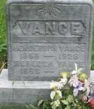 DENNEY VANCE, REBECCA - Gallia County, Ohio | REBECCA DENNEY VANCE - Ohio Gravestone Photos