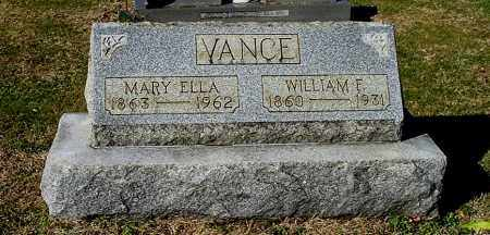 VANCE, MARY ELLA - Gallia County, Ohio | MARY ELLA VANCE - Ohio Gravestone Photos