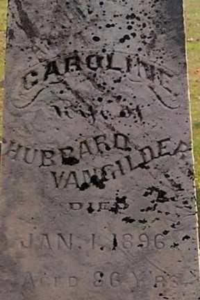 VANGILDER, CAROLINE (CLOSE-UP) - Gallia County, Ohio | CAROLINE (CLOSE-UP) VANGILDER - Ohio Gravestone Photos