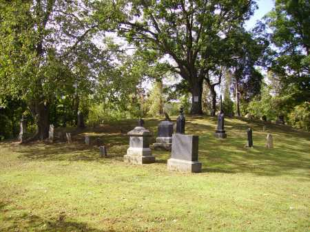 VAN ZANT CEMETERY, OVERALL VIEW 1 - Gallia County, Ohio | OVERALL VIEW 1 VAN ZANT CEMETERY - Ohio Gravestone Photos