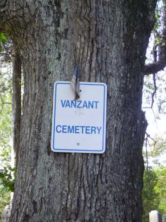 VANZANT CEMETERY, SIGN - Gallia County, Ohio | SIGN VANZANT CEMETERY - Ohio Gravestone Photos