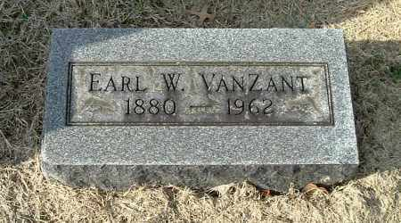 VANZANT, EARL W - Gallia County, Ohio | EARL W VANZANT - Ohio Gravestone Photos