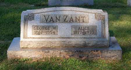 VANZANT, ALICE - Gallia County, Ohio | ALICE VANZANT - Ohio Gravestone Photos