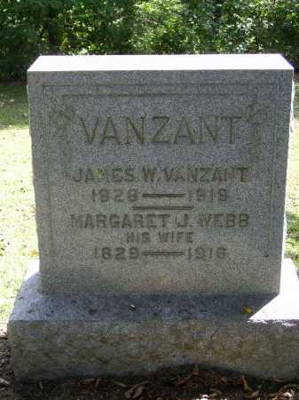 WEBB VANZANT, MARGARET J. - Gallia County, Ohio | MARGARET J. WEBB VANZANT - Ohio Gravestone Photos
