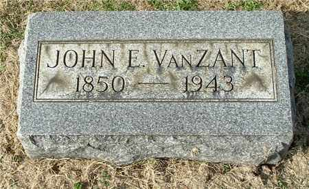 VANZANT, JOHN EMERY - Gallia County, Ohio | JOHN EMERY VANZANT - Ohio Gravestone Photos