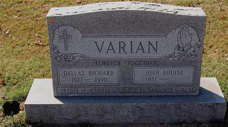 VARIAN, JOAN LOUISE - Gallia County, Ohio | JOAN LOUISE VARIAN - Ohio Gravestone Photos