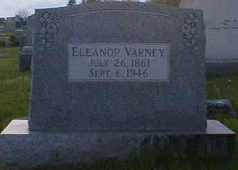 VARNEY, ELEANOR - Gallia County, Ohio | ELEANOR VARNEY - Ohio Gravestone Photos