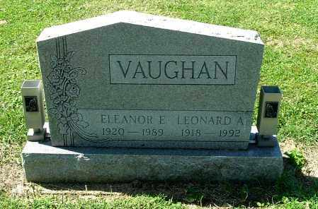 VAUGHAN, LEONARD A - Gallia County, Ohio | LEONARD A VAUGHAN - Ohio Gravestone Photos