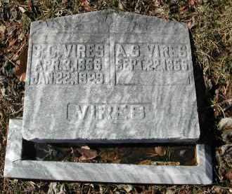VIRES, S. L. - Gallia County, Ohio | S. L. VIRES - Ohio Gravestone Photos