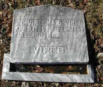 VIRES, A. G. - Gallia County, Ohio | A. G. VIRES - Ohio Gravestone Photos
