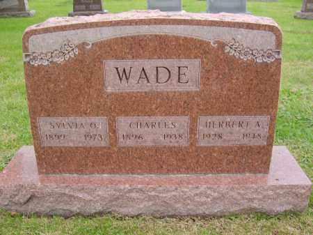 WADE, HERBERT - Gallia County, Ohio | HERBERT WADE - Ohio Gravestone Photos
