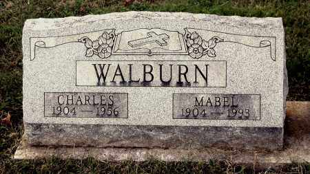 WALBURN, CHARLES - Gallia County, Ohio | CHARLES WALBURN - Ohio Gravestone Photos