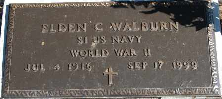 WALBURN, ELDEN C - Gallia County, Ohio | ELDEN C WALBURN - Ohio Gravestone Photos