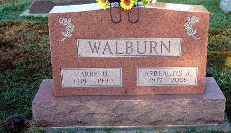 WALBURN, ARBEAUTIS R - Gallia County, Ohio | ARBEAUTIS R WALBURN - Ohio Gravestone Photos