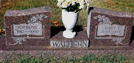 WALBURN, MARY E - Gallia County, Ohio | MARY E WALBURN - Ohio Gravestone Photos