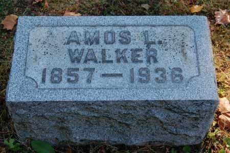 WALKER, AMOS L - Gallia County, Ohio | AMOS L WALKER - Ohio Gravestone Photos