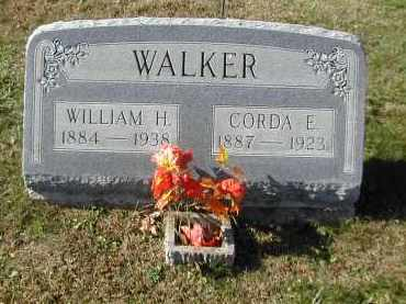 WALKER, CORDA - Gallia County, Ohio | CORDA WALKER - Ohio Gravestone Photos