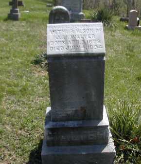 WALTER, ARTHUR - Gallia County, Ohio | ARTHUR WALTER - Ohio Gravestone Photos