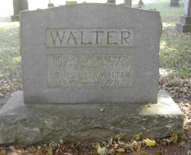 DYER WALTER, ETHEL - Gallia County, Ohio | ETHEL DYER WALTER - Ohio Gravestone Photos