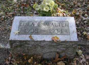 WALTER, LULA - Gallia County, Ohio | LULA WALTER - Ohio Gravestone Photos