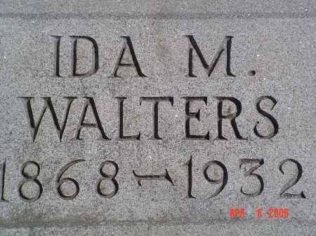 WALTERS, IDA M. - Gallia County, Ohio | IDA M. WALTERS - Ohio Gravestone Photos