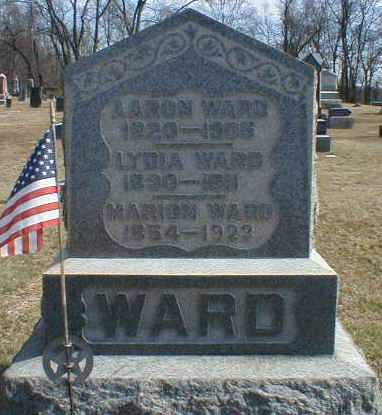 WARD, AARON - Gallia County, Ohio | AARON WARD - Ohio Gravestone Photos