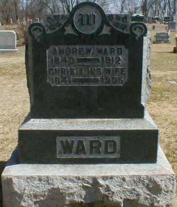 WARD, ANDREW - Gallia County, Ohio | ANDREW WARD - Ohio Gravestone Photos