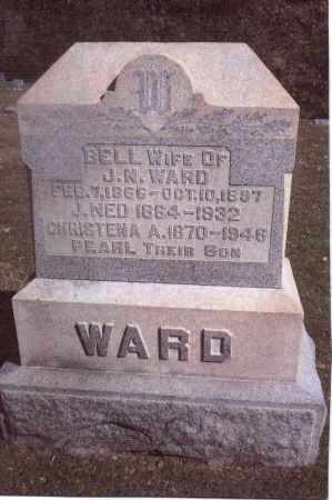 WARD, BELL - Gallia County, Ohio | BELL WARD - Ohio Gravestone Photos