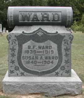 WARD, SUSAN - Gallia County, Ohio | SUSAN WARD - Ohio Gravestone Photos