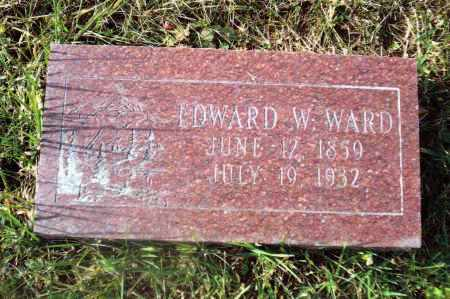 WARD, EDWARD W. - Gallia County, Ohio | EDWARD W. WARD - Ohio Gravestone Photos