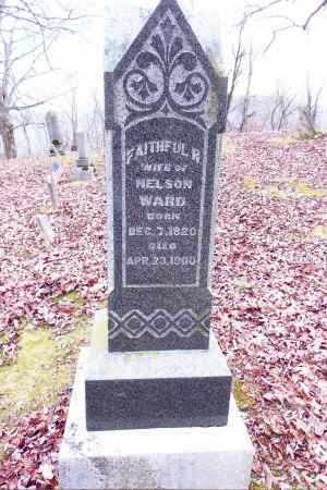 WARD, FAITHFUL R. - Gallia County, Ohio | FAITHFUL R. WARD - Ohio Gravestone Photos