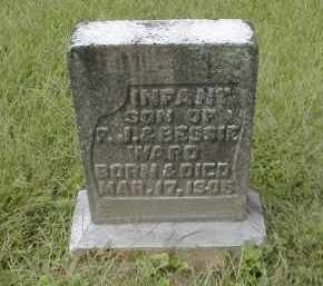 WARD, INFANT SON - Gallia County, Ohio   INFANT SON WARD - Ohio Gravestone Photos