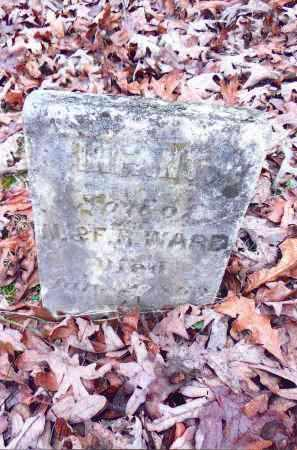 WARD, INFANT SON - Gallia County, Ohio | INFANT SON WARD - Ohio Gravestone Photos