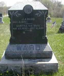 WARD, J. A. - Gallia County, Ohio | J. A. WARD - Ohio Gravestone Photos