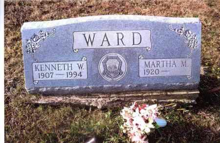 WARD, MARTHA M. - Gallia County, Ohio | MARTHA M. WARD - Ohio Gravestone Photos
