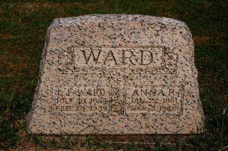 WARD, ANNA R - Gallia County, Ohio | ANNA R WARD - Ohio Gravestone Photos