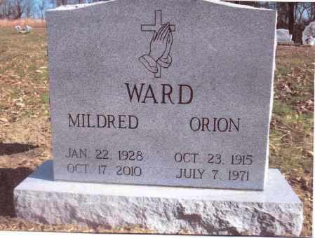 WARD, ORION - Gallia County, Ohio | ORION WARD - Ohio Gravestone Photos