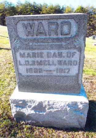 WARD, MARIE - Gallia County, Ohio | MARIE WARD - Ohio Gravestone Photos